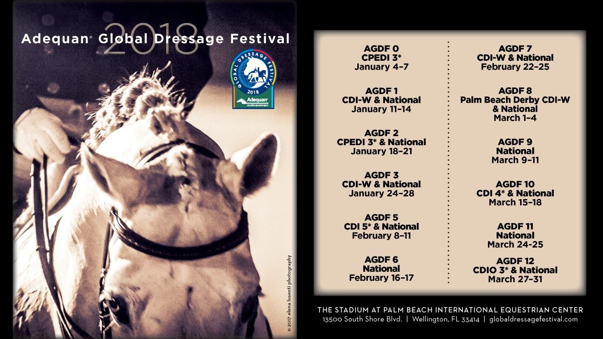 Festival de adestramento em Wellington segue até 31 de março
