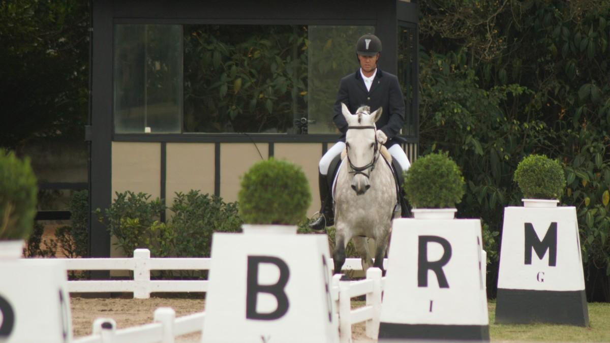Escola e cavalos novos chamam a atenção de juízes na Taça São Paulo