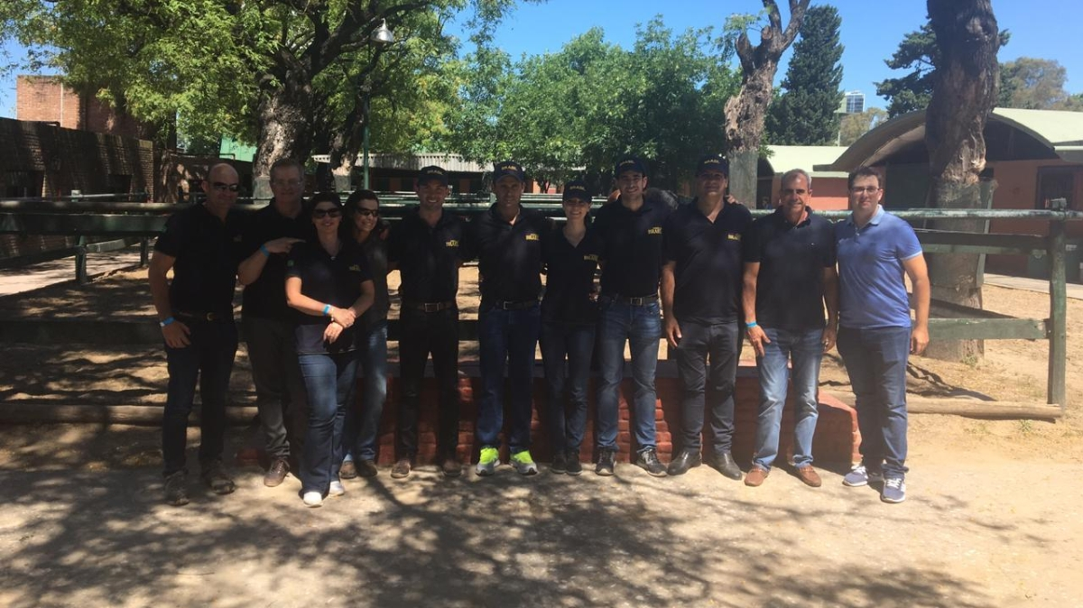 Conjuntos brasileiros são aprovados na inspeção veterinária no CDI da Argentina