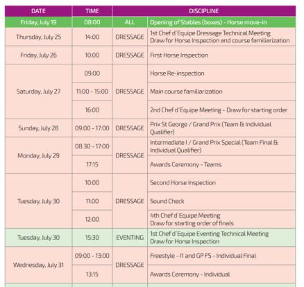 Lima_dressage_timetable